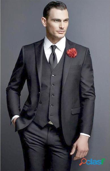Alquiler   trajes slim con chaleco completos elegantes para hombre