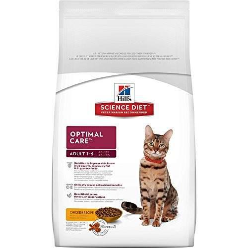 Alimento para gatos adultos de cuidado optimo colinas cienci