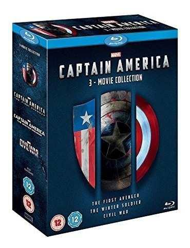 Captain america 3 movie collection [bluray] [region free]