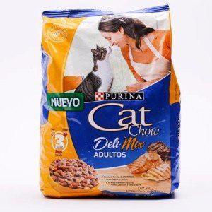 Cat chow adultos deli-mix * 10 kilos super promo