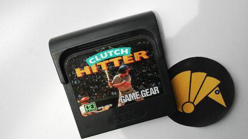 Clutch hitter sega game gear / armadilo nintendo nes sega