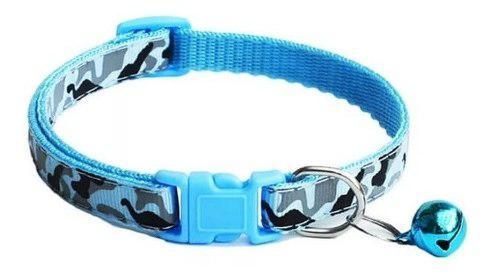 Collar mascotas gatos perros cascabel raza pequeña máx 10
