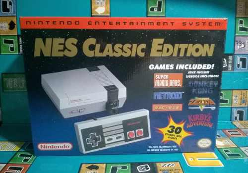 Consola nintendo nes classic edition 30 games megaman cast