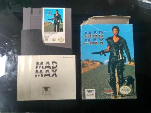Mad max juego nintendo clasico nes retro completo en caja