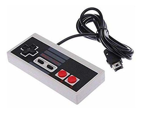 Nintendo nes game pad controller con wii plug para nintendo