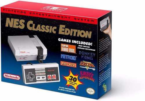 Nintendo Nes Mini / Classic Original - Nuevo Y Sellado