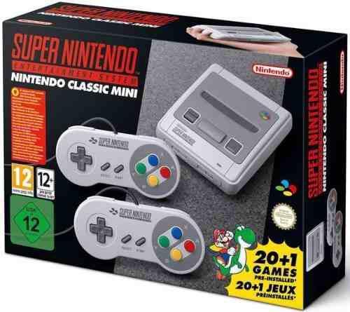 Nintendo súper nes classic mini consola entrega inmediata