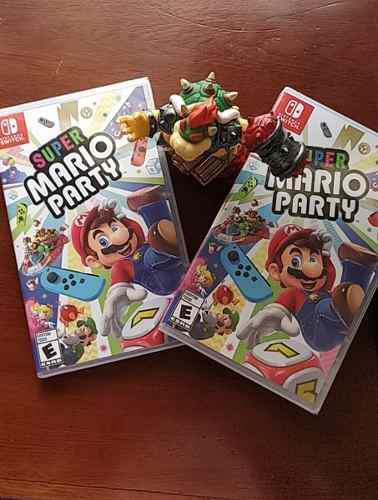 Nuevo nintendo switch super mario party nuevo sellado