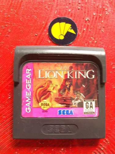 Rey leon sega game gear / armadilo nintendo nes sega