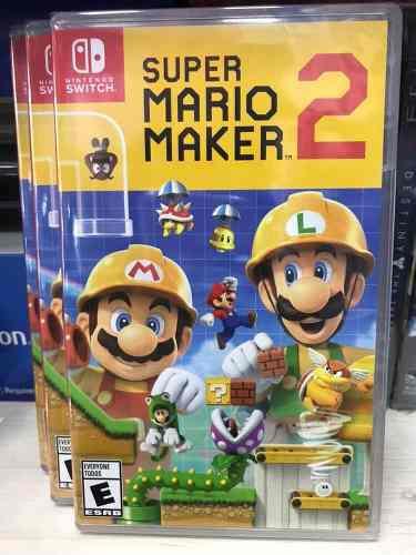 Super mario maker 2 nintendo switch físico original nuevo