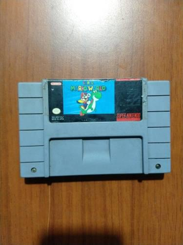 Super mario world supernintendo