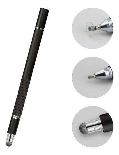 Lápiz stylus punta fina, táctil y bolígrafo 3en1