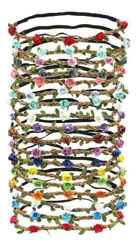 Conjunto de diadema de corona de flores mini color de...