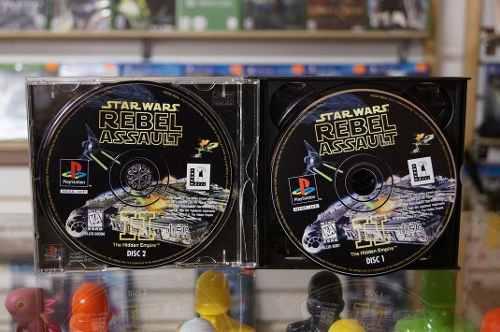 Star wars rebel assault 2 juegos play1 usado barato