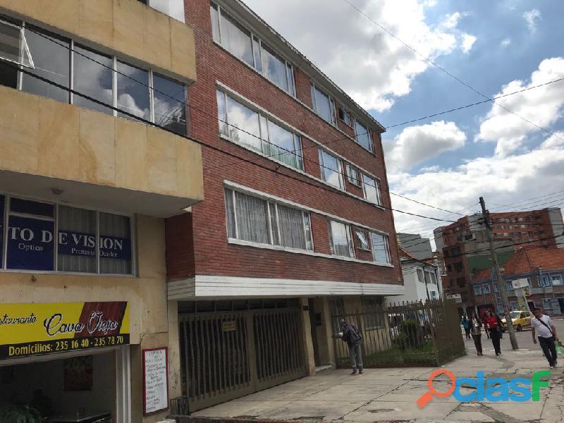 Se vende apartamento de 103 mts2 en chapinero.