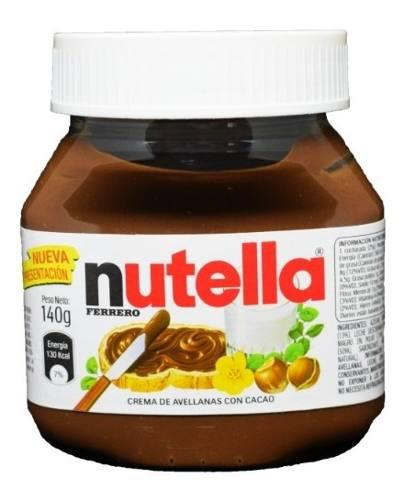 Nutella crema de avellanas ferrero 140 g - kg a $62
