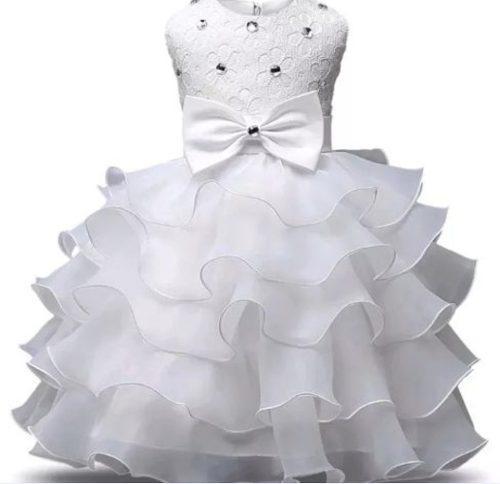 Vestido nuevo niña fiesta princesa elegante pajecita