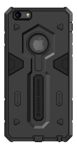 Carcasa Fuerte Nillkin Defender Ii iPhone 6/6s Plus, Negro