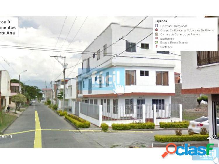 Casa en palmira con 3 apartamentos en santa ana
