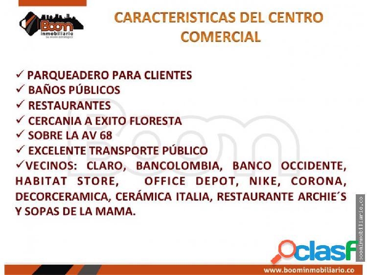 **VENTA ARRIENDO LOCALES 1.900 M2 FLORESTA 2