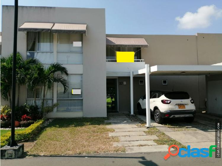 Casa en condominio en alfaguara (f.d)