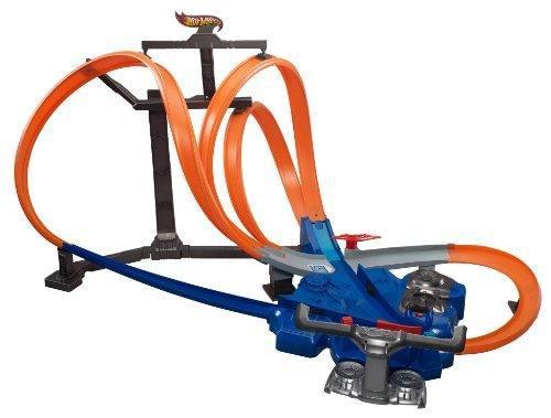Juego de pistas carros hot wheels triple track twister