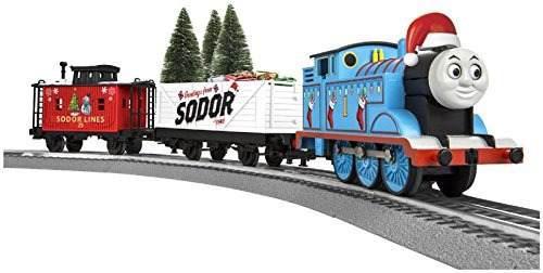 Lionel thomas tren de carga de navidad set ogauge