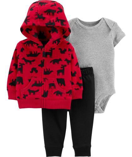 Conjunto chaqueta térmica carter's talla 9, 12,18y 24 meses