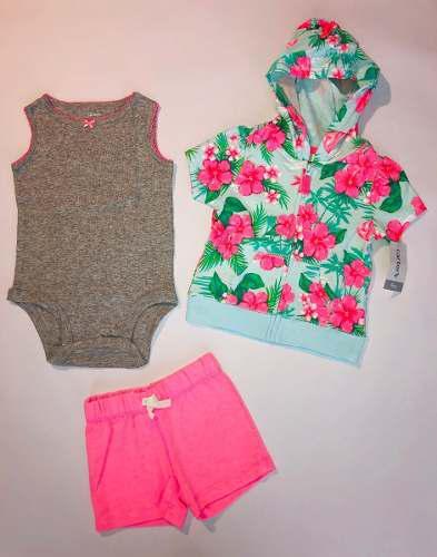 Conjuntos De Pantaloneta Carters Variados Para Niña
