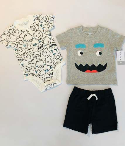 Conjuntos De Pantaloneta Carters Variados Para Niño