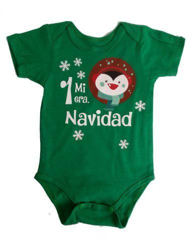 Mameluco Mi Primera Navidad Personalizado