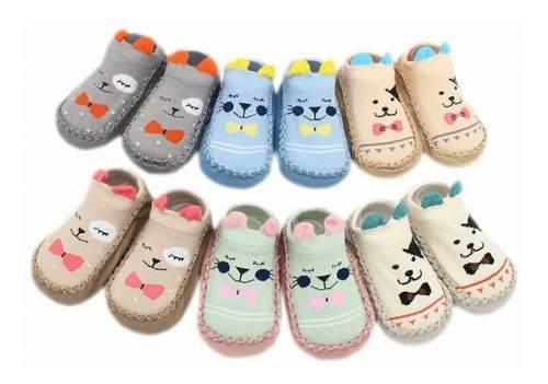 Media zapato andideslizantes para bebe