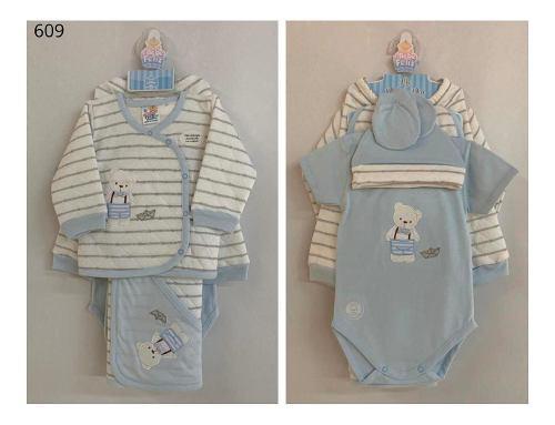 Set primer día niño en algodón
