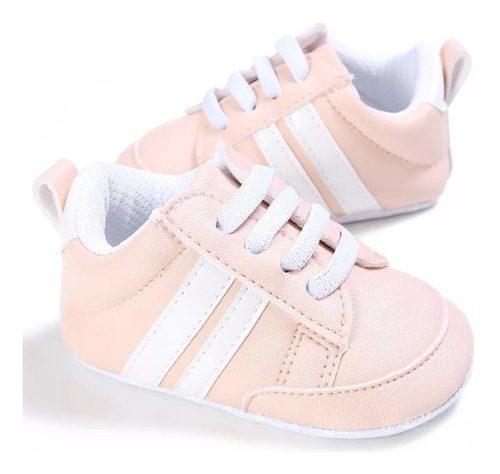 Zapato Bebes Tenis Blandos Antideslizantes Lona Bebitos