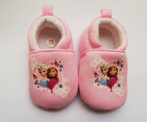 Zapatos babuchas niña bebe antideslizante ana y elsa frozen