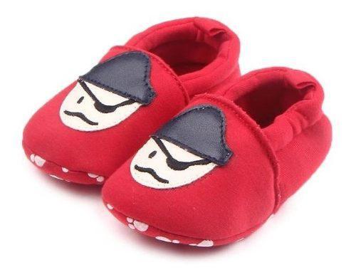 Zapatos babuchas niña niño bebe antideslizante pirata