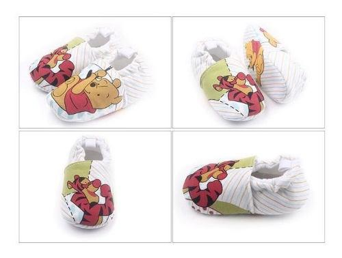 Zapatos bebe antideslizante babuchas niño niña winnie pooh