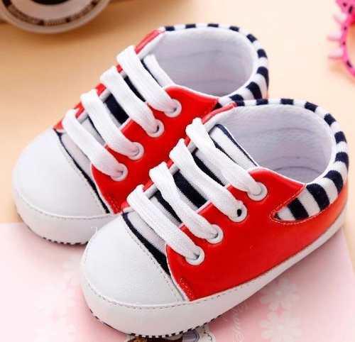 Zapatos Bebe Niño Niña Suela Antideslizante Colores Rayas