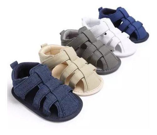 Zapatos bebe sandalia deportiva suela blanda niño niña