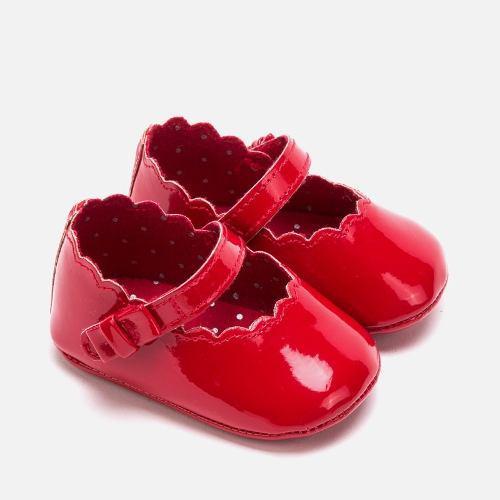 Zapatos merceditas charol bebé recién nacida marca mayoral