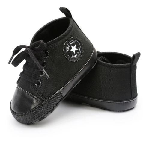 Zapatos tenis bebe tipo converse deportivo unisex rock