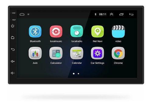 Radio Carro Android 8 Pantalla 2 Din Wifi Waze Gps Usb Bisel