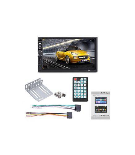 Radio carro bluetooth mirror link usb pantalla 7 hd mod 2020