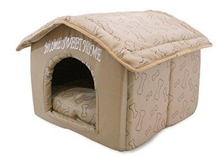 Casa para perros para interior portátil por best pet