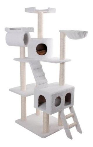 Majestic pet products 73 pulgadas beige casita cat furniture