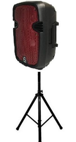 Parlante sonivox 8 pulgadas + tripode, recargable, microfono