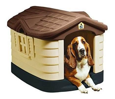 Pet zone cosy cottage casa de perro de plástico duradero