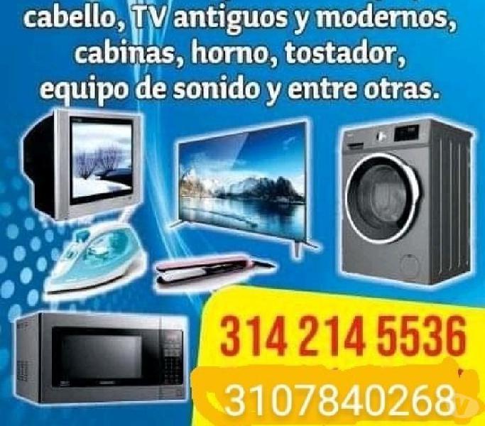 Servicio en tv microondas lavadoras