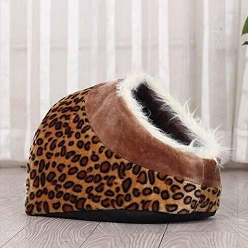 Tinksky soft cotton indoor bed nido de la casa para el perro