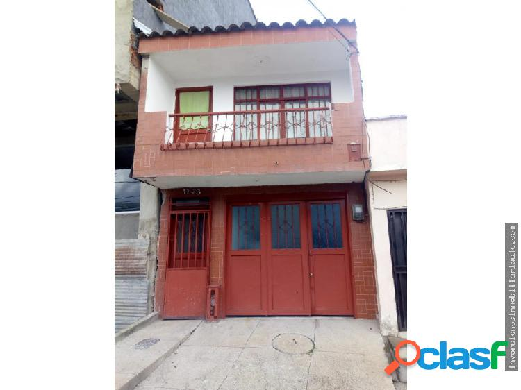 Venta casa 2 rentas b/ galan armenia q.